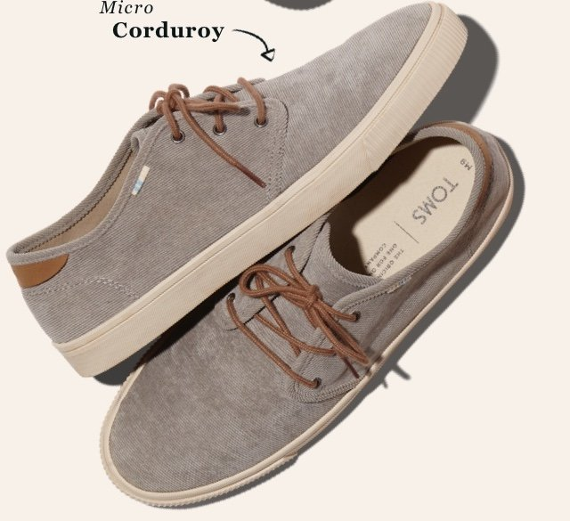 ebab4adee1 The Topanga Collection  Now in corduroy - TOMS Email Archive