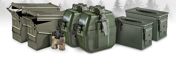 BUY ONE AMMO CAN, GET ONE FREE
