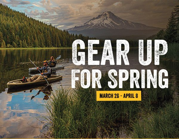 Gear Up For Spring