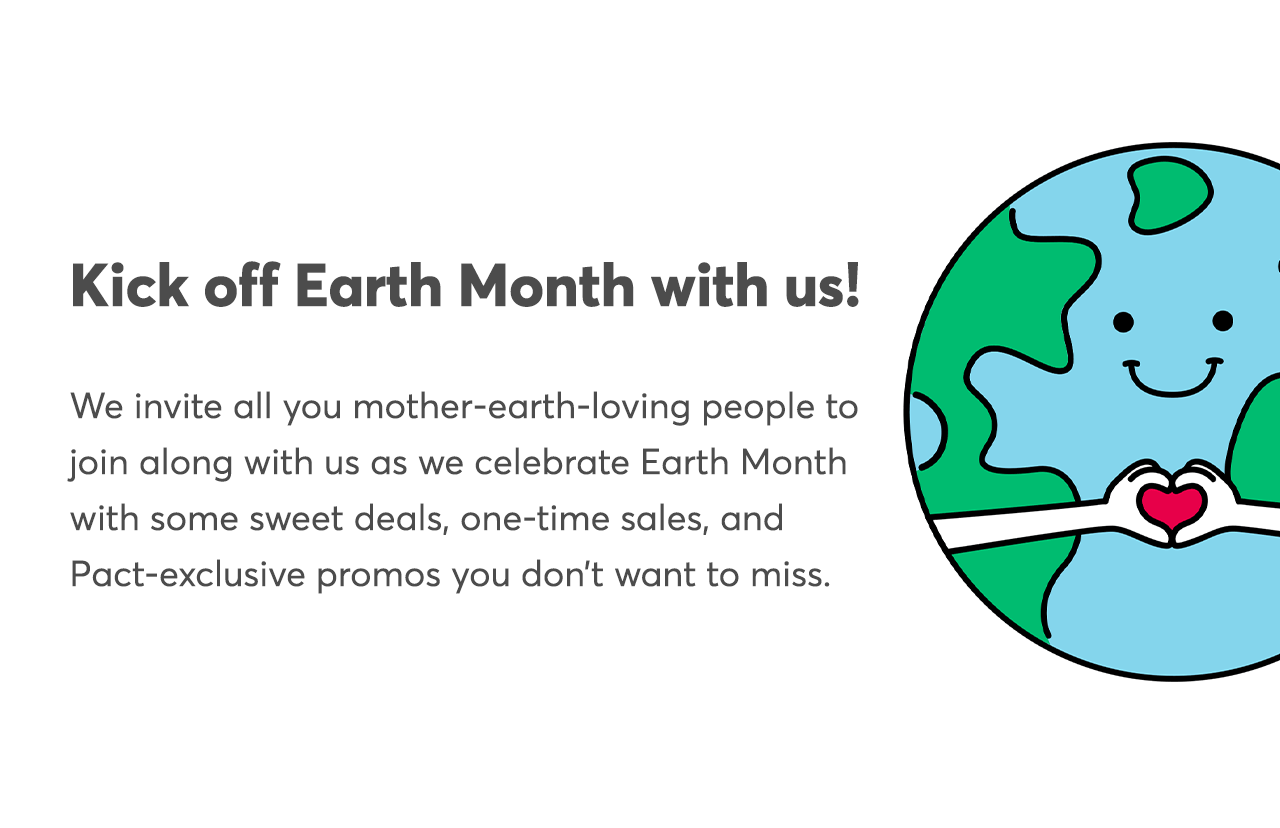 Kick off Earth Month with us!