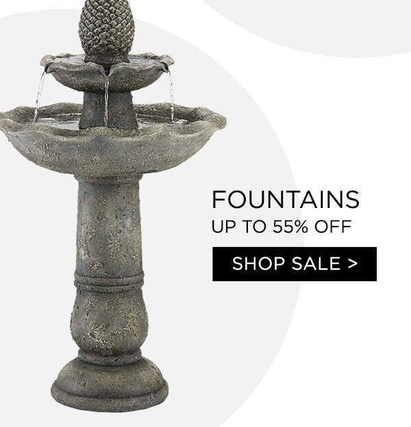 Fountains - Up To 55% Off - Shop Sale >