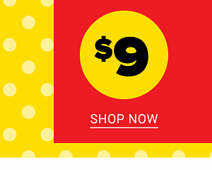 $9 Clearance. Shop Now.