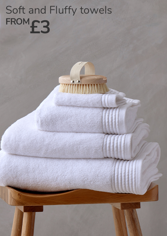 Soft and Fluffy towels