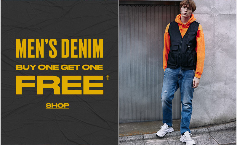mens denim BOGO Free - Shop