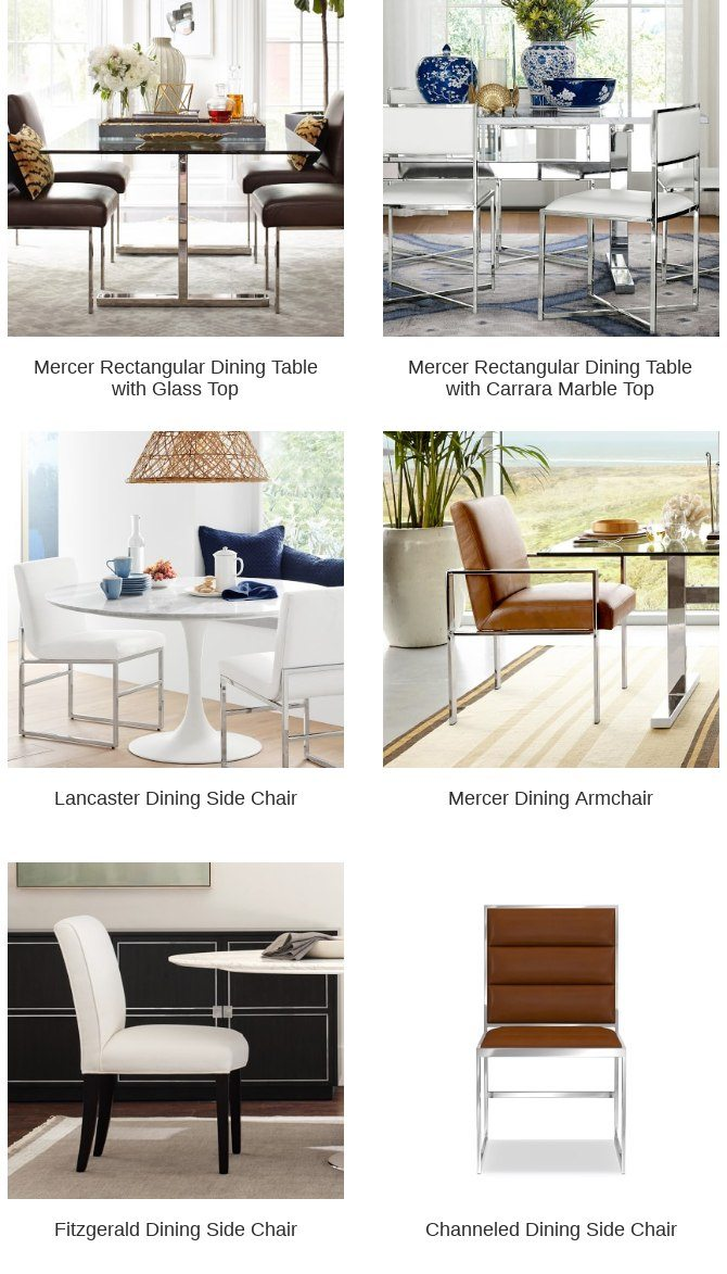 Mercer Dining Side Chair Is Still In Your Cart Williams Sonoma Home Email Archive
