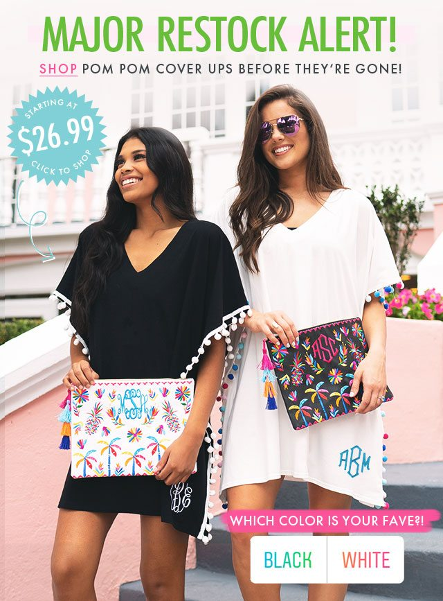 754e4990f1 ATTN: Pom Pom Cover Ups are BACK! 🎉 - Marleylilly Email Archive