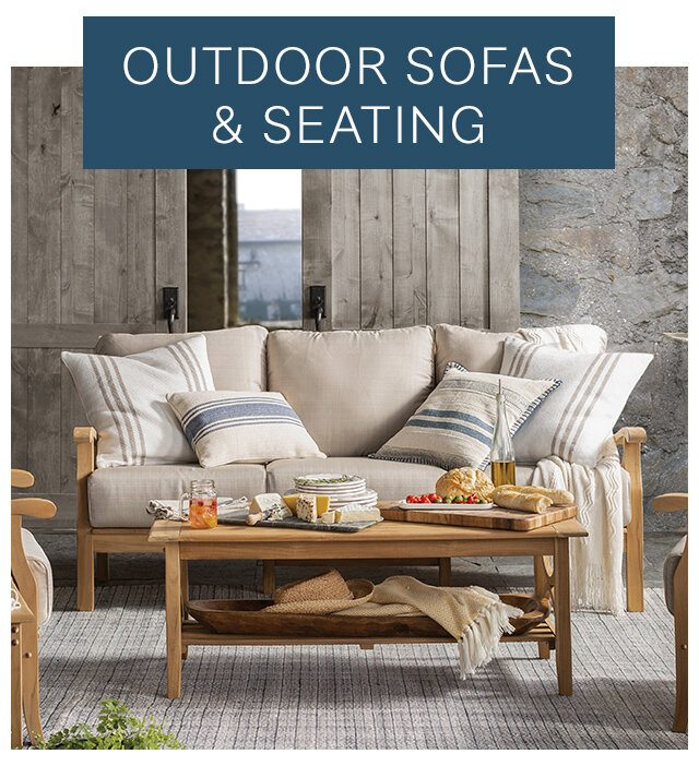 Outdoor Sofas and Seating