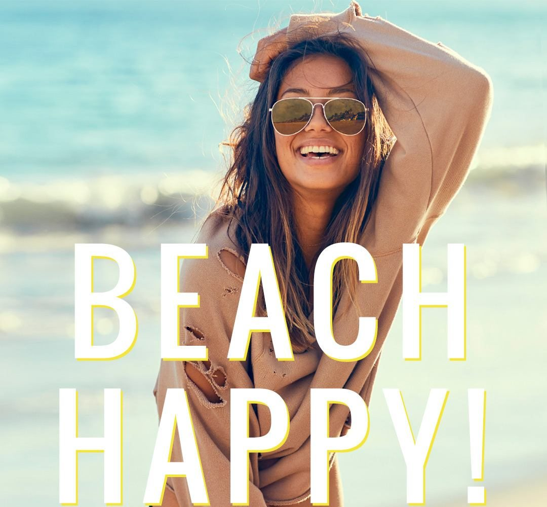New Beach Fleece On Worries Gone American Eagle Outfitters Email