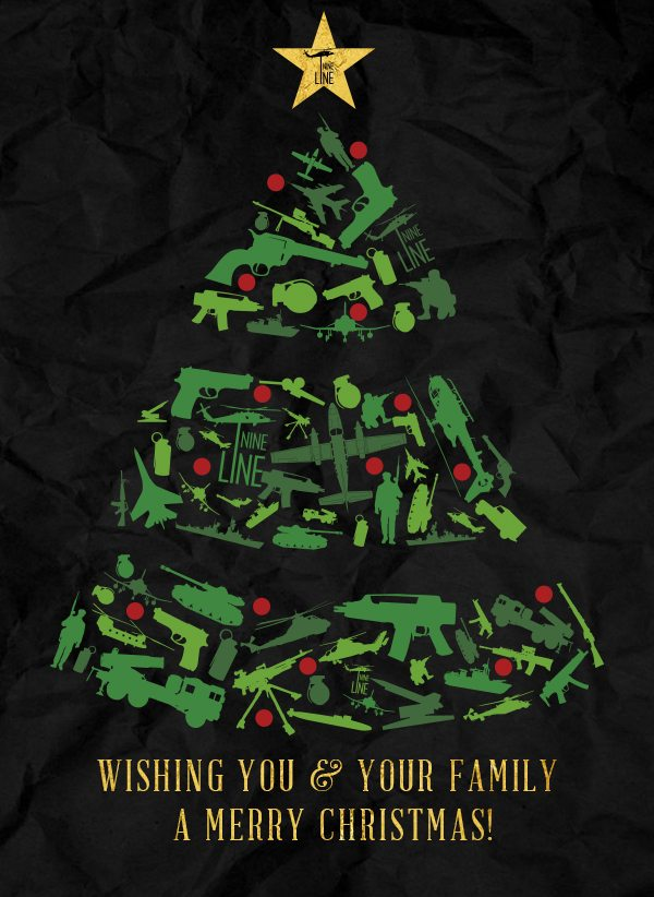 🎅 Merry Christmas from our Nine Line Apparel family to yours