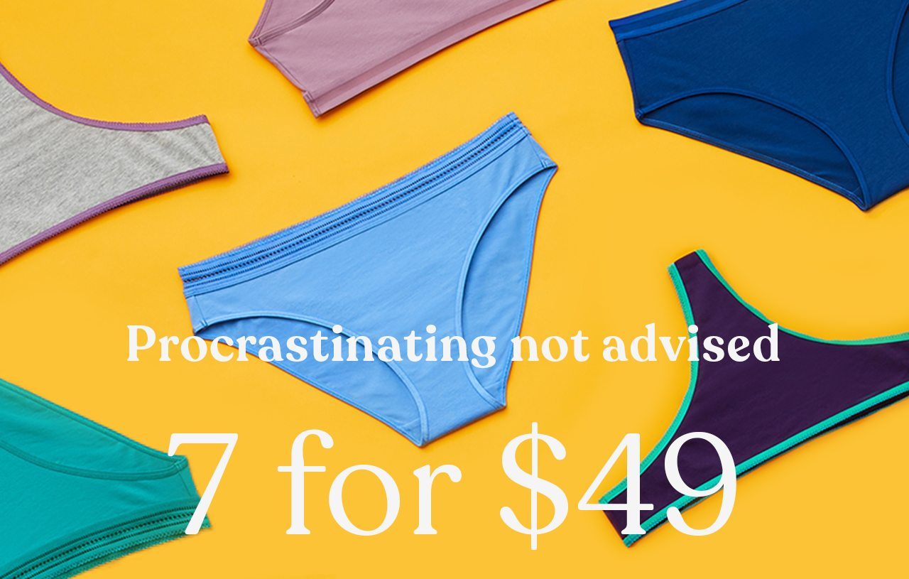 Procastinating not advised 7 for $49
