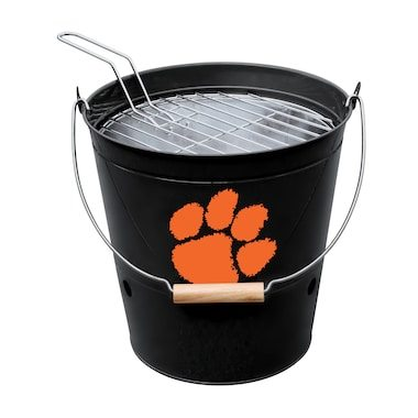 Imperial Clemson Tigers Black Bucket Grill
