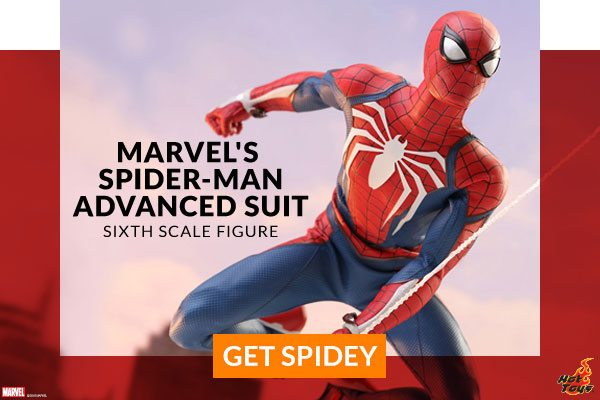 Marvel's Spider-Man Advanced Suit Sixth Scale Figure (Hot Toys)