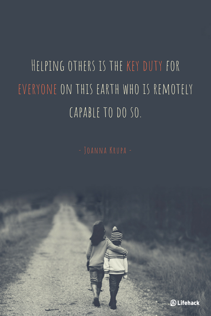Quotes about helping others - Lifehack Email Archive