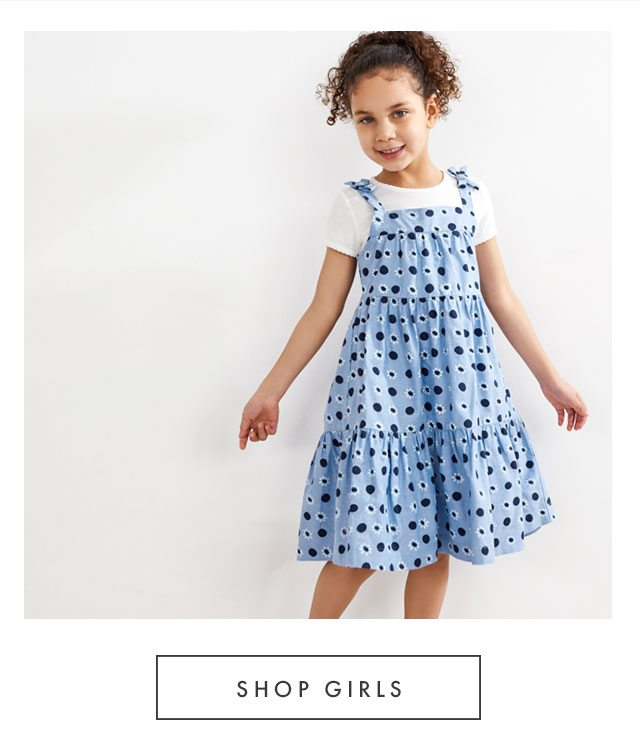 Shop clearance styles for girls.