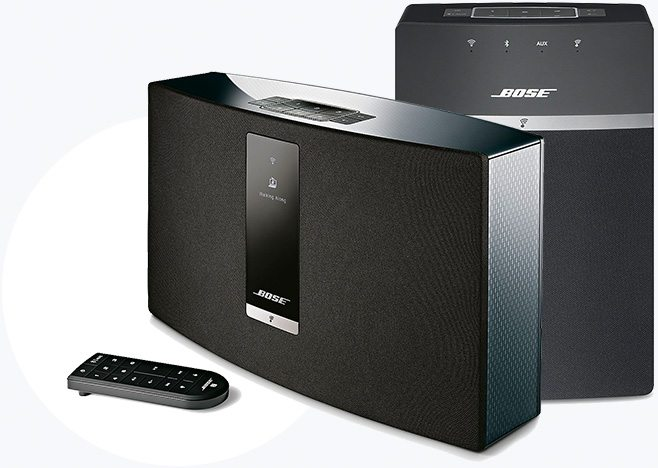 ROOM-FILLING SOUND. COMPACT DESIGN. | Bose® SoundTouch® Wi-Fi Speakers, 20 | Bose® SoundTouch® Wi-Fi Speakers, 10