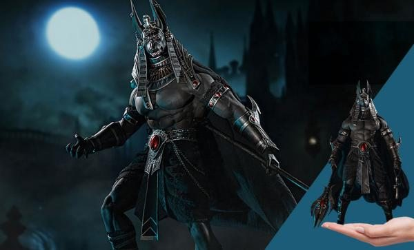 Anubis Guardian of The Underworld (Sliver) Sixth Scale Figure by TBLeague