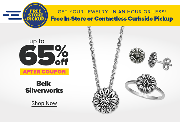 Up to 65% off Belk Silverworks after coupon. Shop Now.