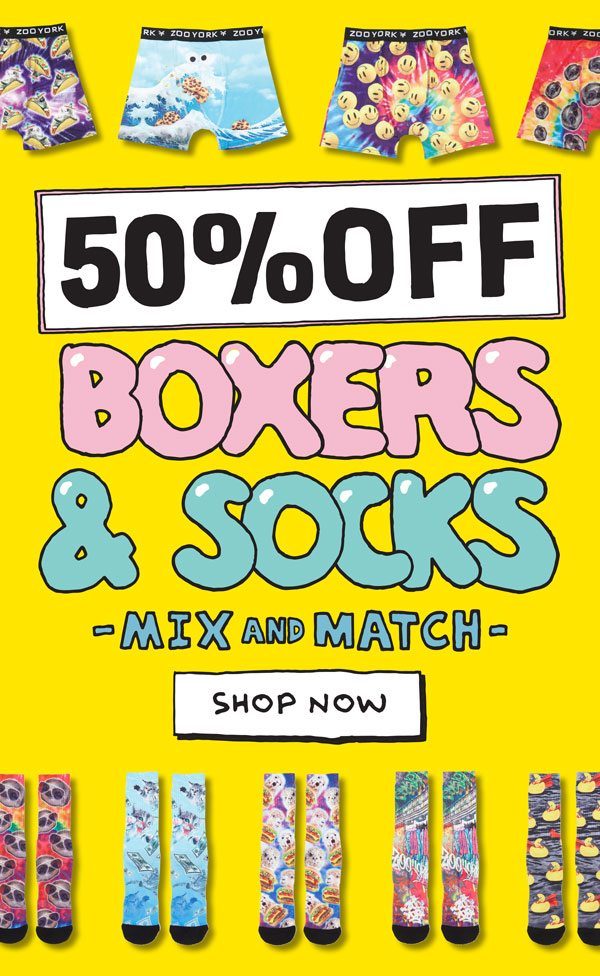 Boxers and socks