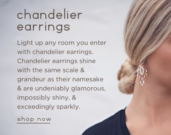 Shop chandelier earrings