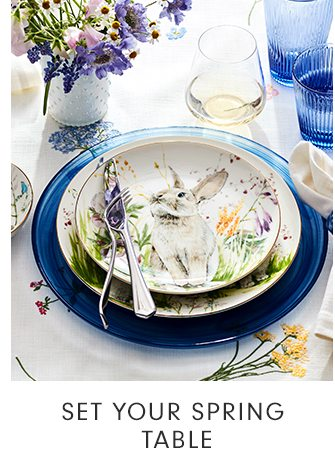 SET YOUR SPRING TABLE