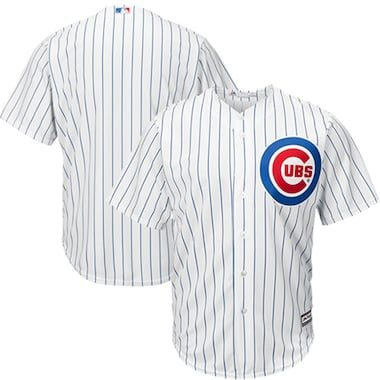Majestic Chicago Cubs White Official Cool Base Jersey