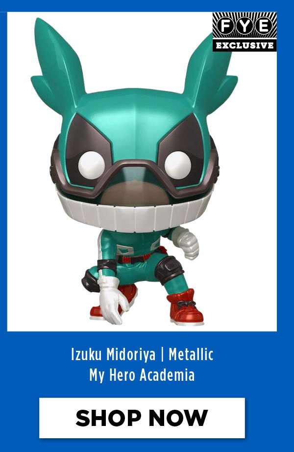 Izuku Midoriya - FYE Exclusive Metallic Edition