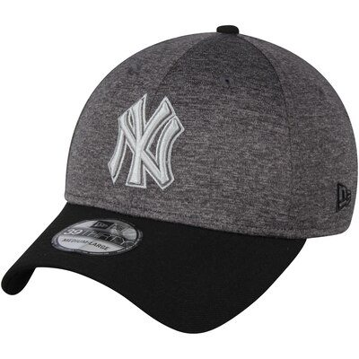 New York Yankees New Era 39THIRTY Shadow Tech Color Pop Flex Hat - Heathered Gray/Black