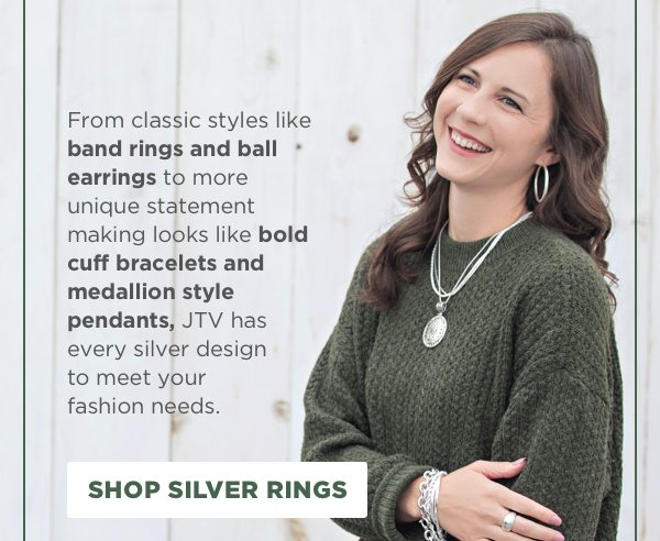 Shop silver rings