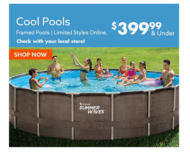 Pools $399.99 and under
