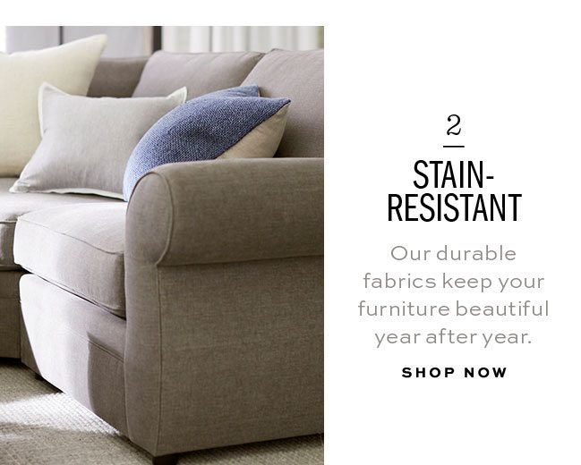 2 STAIN-RESISTANT