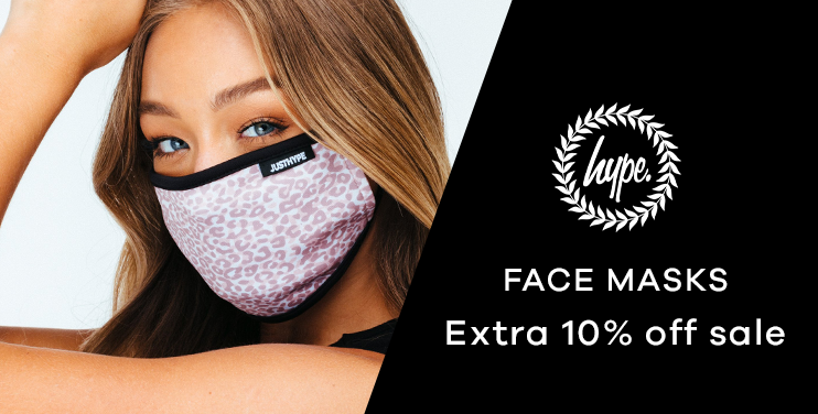Face Masks | Extra 10% off sale