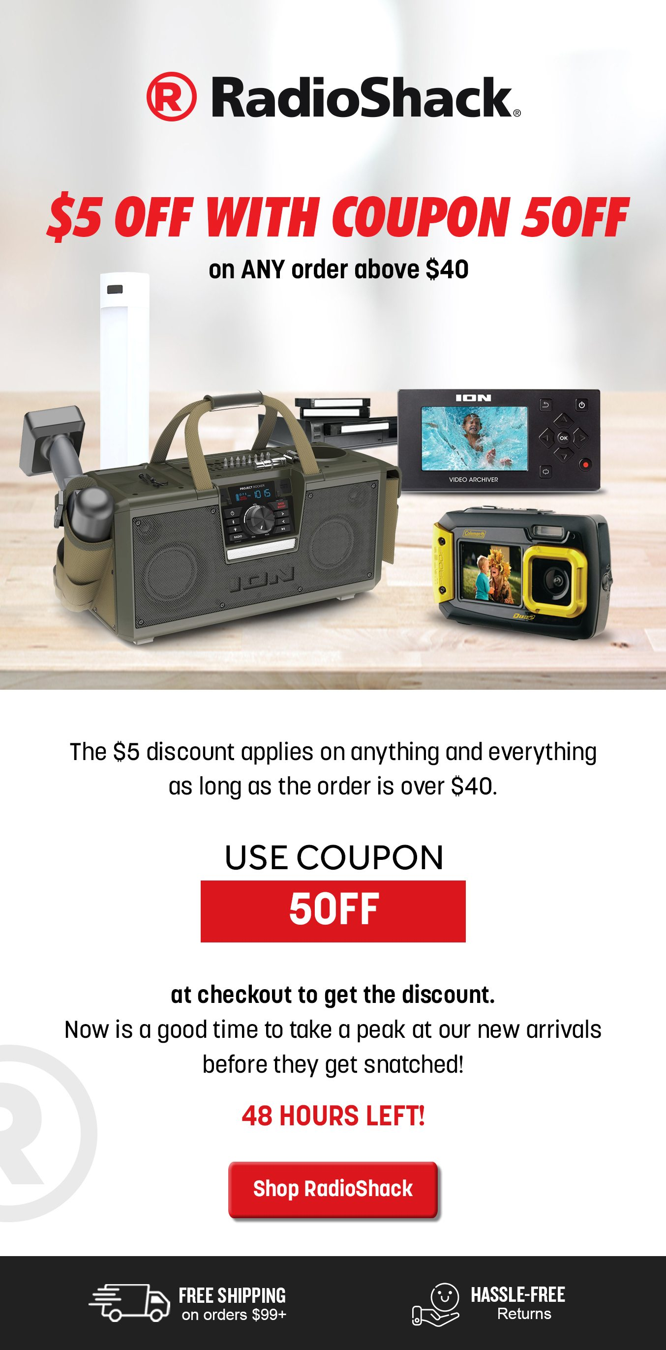 $5 Off With Coupon 5OFF