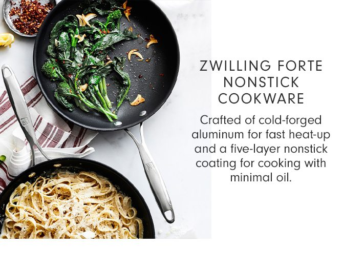 ZWILLING FORTE NONSTICK COOKWARE