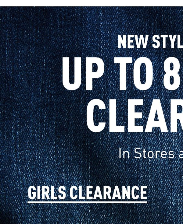 Girls Clearance
