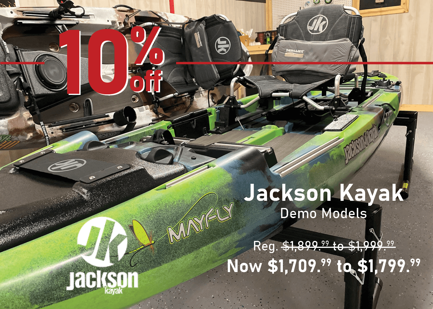Jackson Kayak Demo Models