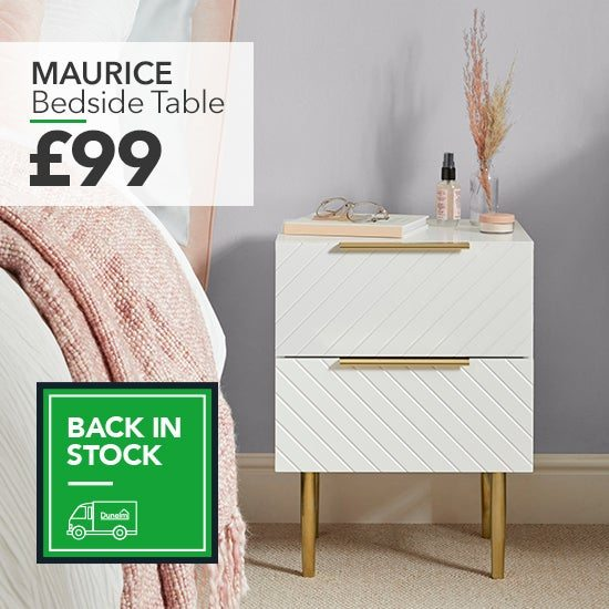 Maurice Bedside Table £99