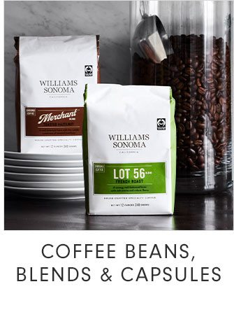 COFFEE BEANS, BLENDS & CAPSULES