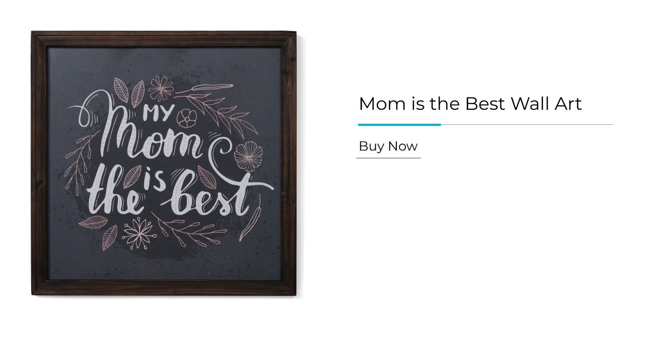 Mom is the Best Wall Art