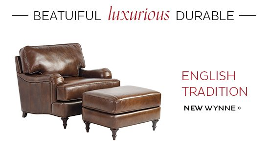 Super These Seats Are All Youve Leather Wanted Ballard Designs Short Links Chair Design For Home Short Linksinfo