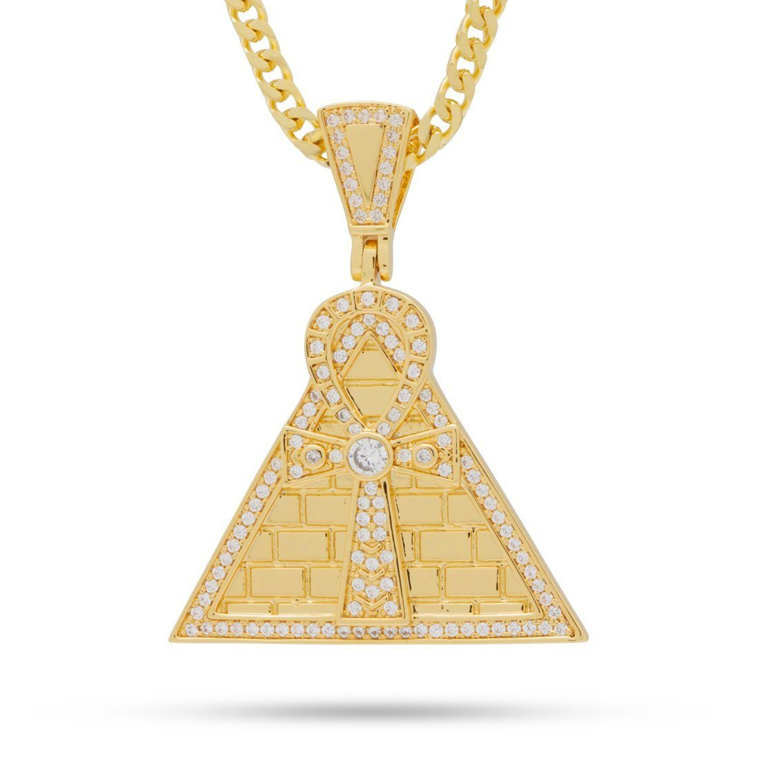 The Ankh Pyramid Necklace