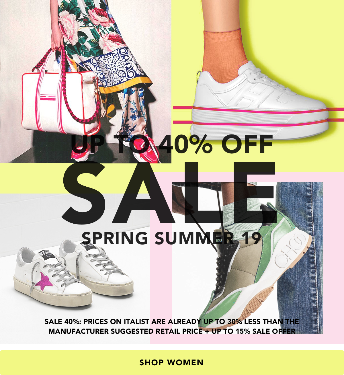 99ab165b5c91 italist SNEAKER MANIA l SALE UP TO 40% OFF on SS19 items: Balenciaga,  Gucci, Golden Goose and more.