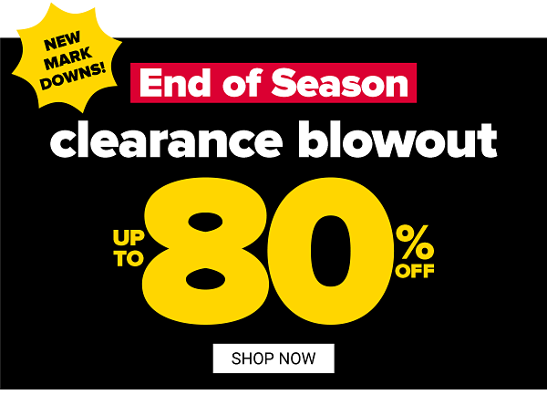 Thousands of new markdowns just added. Up to 85% off clearance. Shop Now.