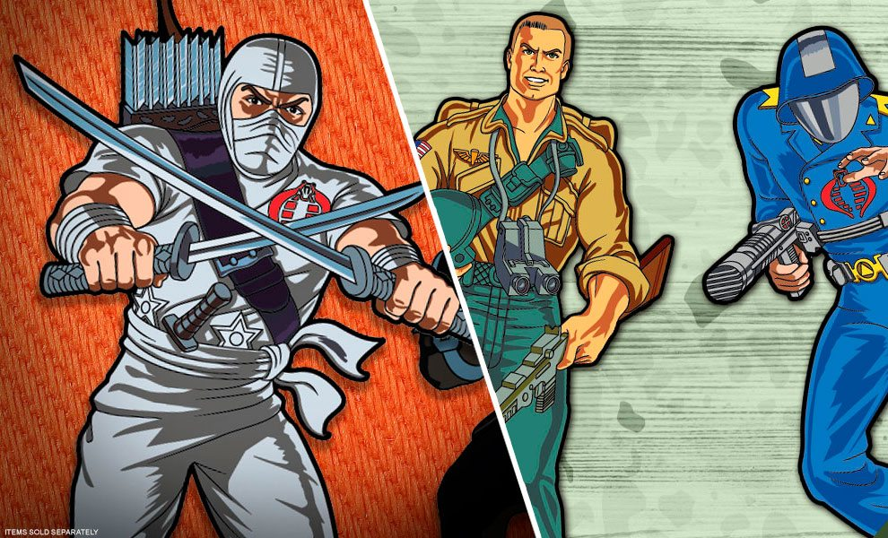 NEW G.I. Joe Collectibles by Icon Heroes