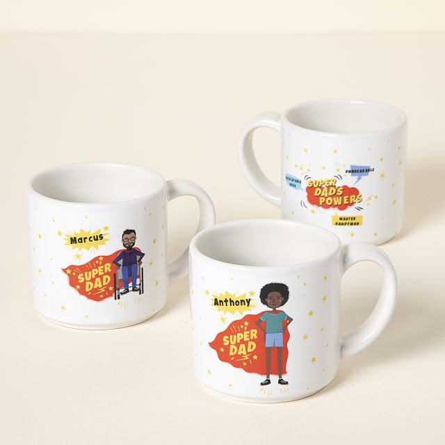Shop Father's Day gifts for New Dads - Super Dad Mug