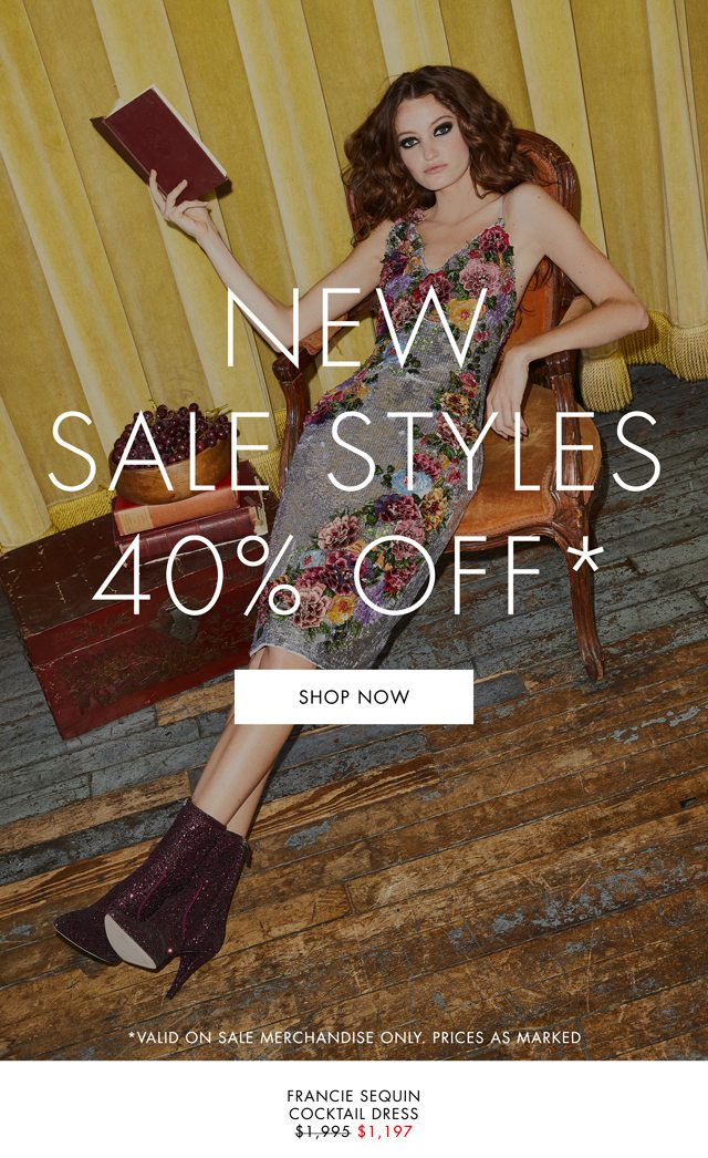 6a729651c35 New Styles Added To Sale - alice + olivia Email Archive