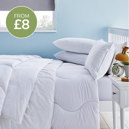 Low tog duvets from £8