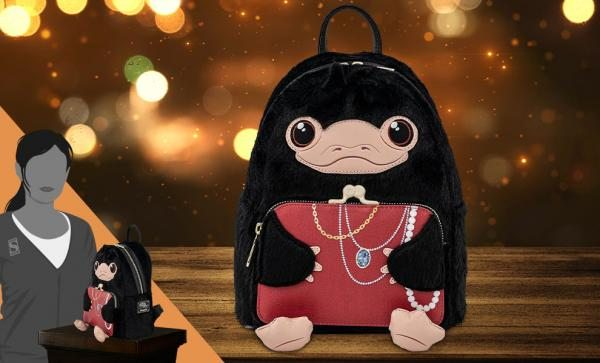 Niffler Plush Cosplay Mini Backpack by Loungefly