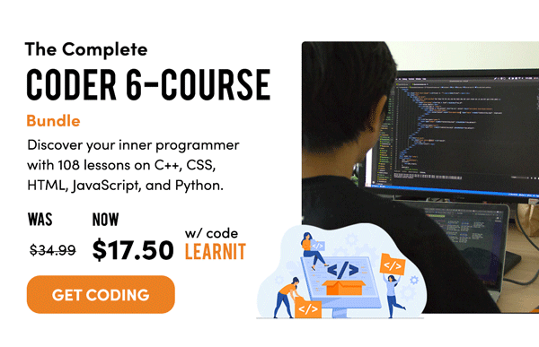 The Complete Coder 6-Course Bundle | Get Coding