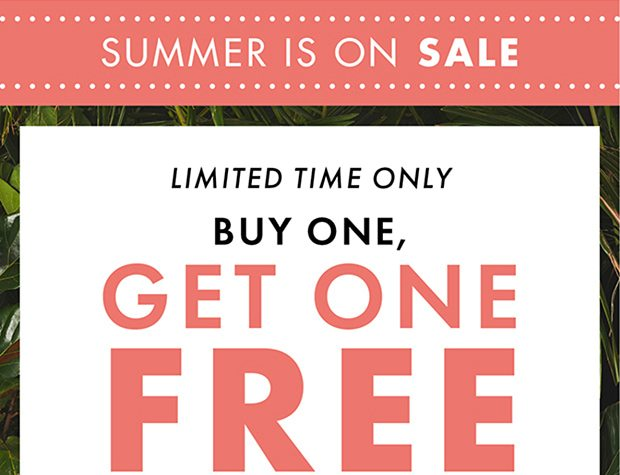 This is huge: buy one, get one FREE