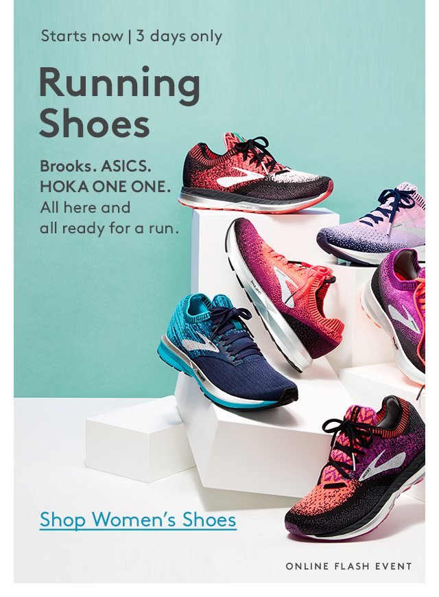 The Running Shoes \u0026 Z By Zella Events